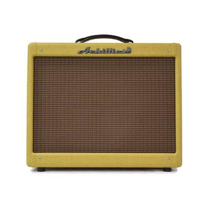 Achillies Deluxe Guitar Combo Amplifier with Jensen P12R Speaker in Tweed - Front