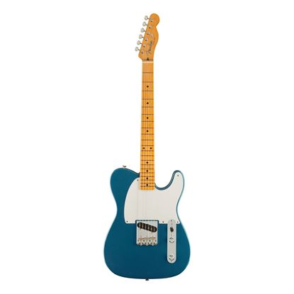 Fender 70th Anniversary Esquire Electric Guitar with Maple Finger Board in Lake Placid Blue - Front
