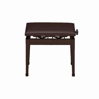 Casio PBBN Adjustable Height Piano Bench in Brown