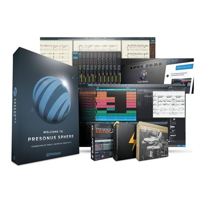 PreSonus Sphere Software Suite (1 Year Access Card)