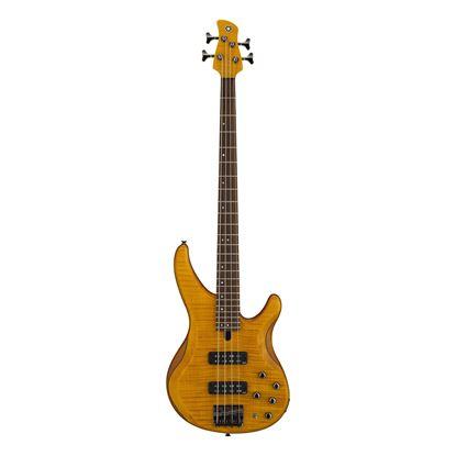 Yamaha TRBX604 4-String Bass Guitar in Matte Amber