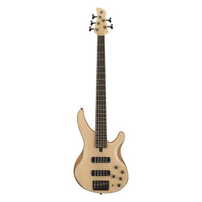 Yamaha TRBX605 5-String Bass Guitar in Natural Satin