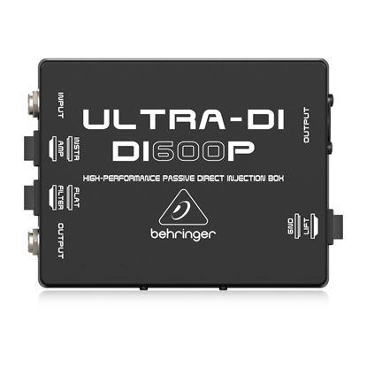 Behringer Ultra-Di DI600P Di Box - Top