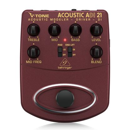 Behringer ADI21 Vtone Acoustic Driver Di Effects Pedal - Front