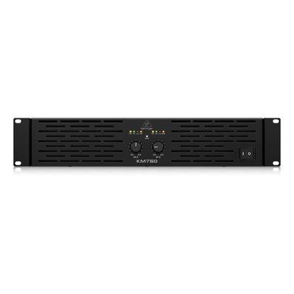 Behringer KM750 2-Channel Amplifier 750W  - Front