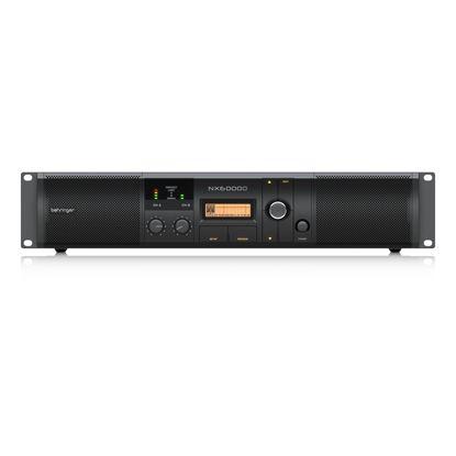 Behringer NX6000D Power Amplifier with Smartsense - Front