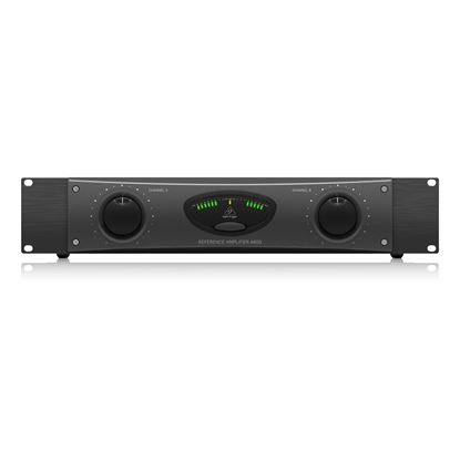 Behringer A800 Pro 800w Reference Amp - Front