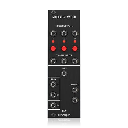 Behringer 962 Sequential Switch Module - Front