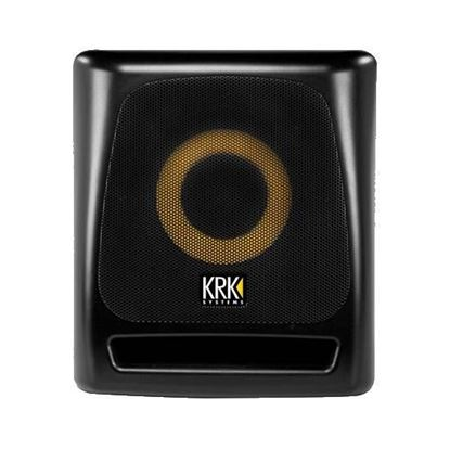 KRK 8S2 8inch Powered Studio Sub (V2) in Black  - Front