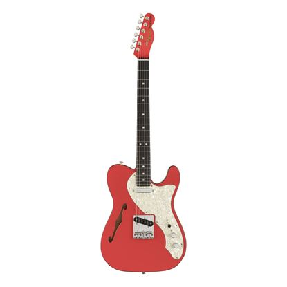 Fender Two-Tone Telecaster 2019 Limited Edition Electric Guitar with Ebony Fingerboard in Fiesta Red - Front