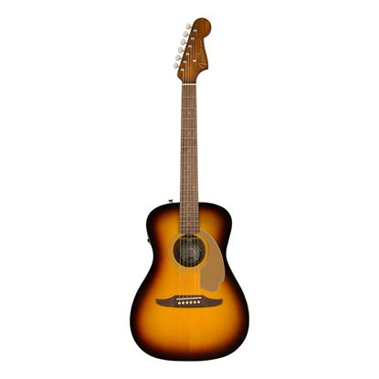Fender Malibu Player Acoustic Guitar with Walnut Fingerboard in Sunburst