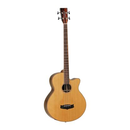 Tanglewood Java Acoustic Bass Guitar with Pickup - Front