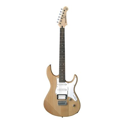 Yamaha PAC112V Pacifica Electric Guitar in Yellow Natural Satin