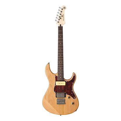 Yamaha PAC311H Pacifica Electric Guitar with Rosewood Fingerboard in Yellow Natural Satin - Front