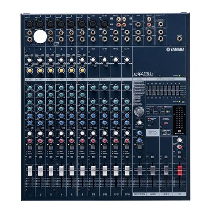 Yamaha EMX5014C 14-Channel Powered Mixer (2 x 500w) - Front