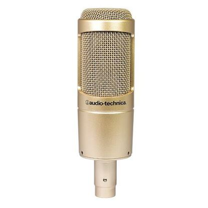 Audio Technica AT2035CG Large Diaphragm Cardioid Condenser Microphone Limited Gold Edition