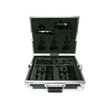 Audio Technica ATM-DrumMicCase Drum Mic Pack in Custom Road Case