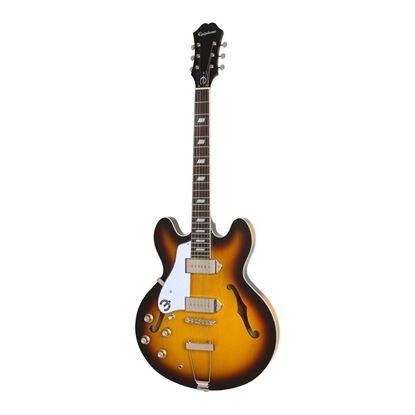 Epiphone Limited Edition Casino Left Handed Electric Guitar in Vintage Sunburst - Front