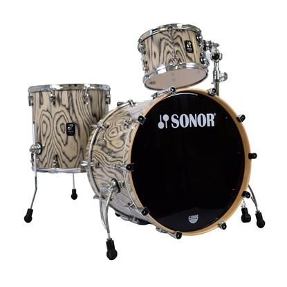 Sonor Prolite 3-Piece Shell Pack with 22in Bass Drum in Snow Tiger