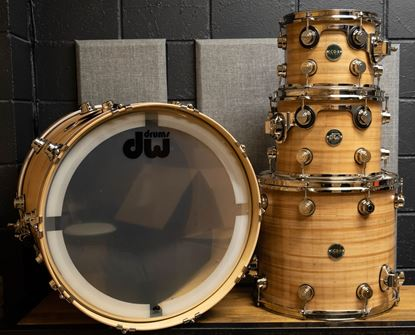 DW Collectors Eco-X Series 4 Piece Shell Pack Drum Kit - Banana