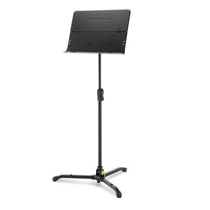 Hercules BS301B:Tripod Orchestra Stand with Perf Foldable Desk