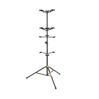 Hercules GS562B: Upright Guitar Display Stand For 6 Guitars