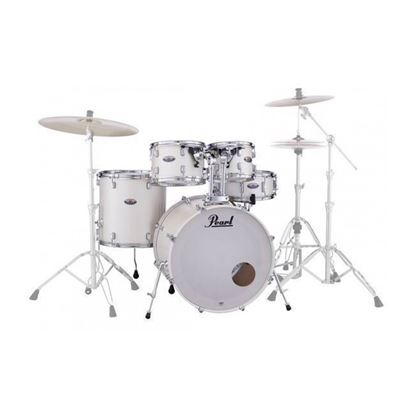 Pearl DMP925SP/C-229K Decade Maple Fusion Plus 5-piece Drumkit with 22in Bass Drum in White Satin Pearl