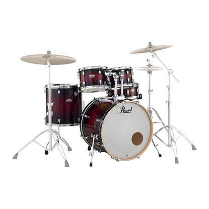 Pearl DMP925SP/C-261K Decade Maple Fusion Plus 5-piece Drumkit with 22in Bass Drum in Gloss Deep Red Burst