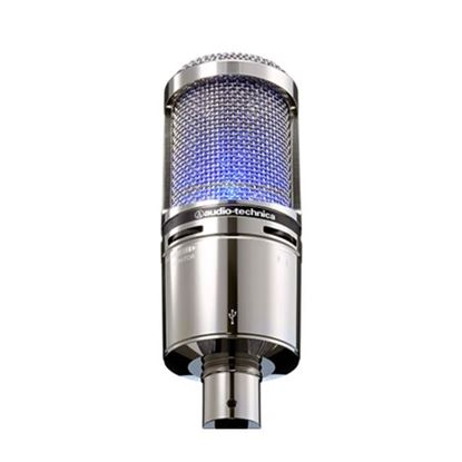 Audio Technica AT2020USB+V Limited Edition Cardioid Condenser Microphone Includes Shock Mount