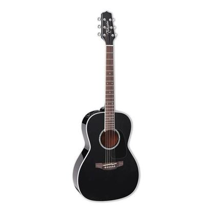 Takamine Custom Pro Series 3 New Yorker Acoustic Guitar with Pickup in Black Gloss Finish