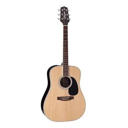 "Takamine ""Glenn Frey"" Artist Series Dreadnought Acoustic Guitar with Pickup in Natural Gloss Finish - Front"