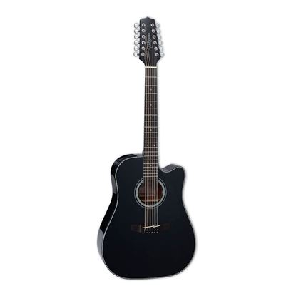Takamine G30 Series Cutaway Dreadnought Acoustic Guitar with Pickup in Black Gloss Finish