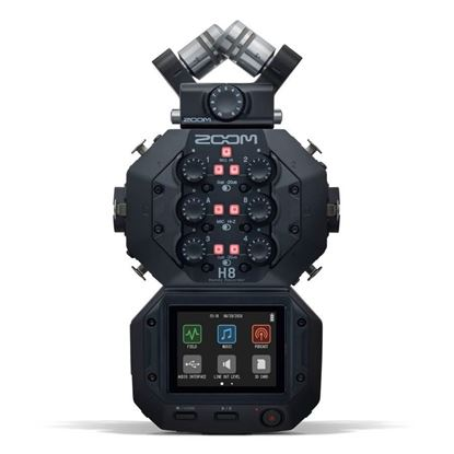 Zoom H8 Handy Recorder/Audio Interface - Front