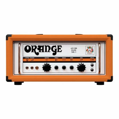 Orange AD200B Bass Head - Front