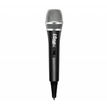IK Multimedia iRig MIC Handheld microphone for iPhone, iPod touch & iPad - Front