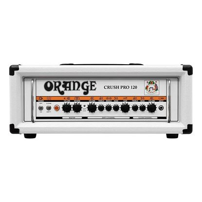 Orange CR120HWH Guitar Amp Head Limited Edition in White - Front