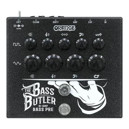 Orange Bass Butler Bi Amp Bass Pre Amp Effects Pedal