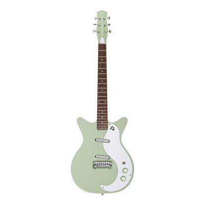 Danelectro 59M NOS+ Electric Guitar in Keen Green