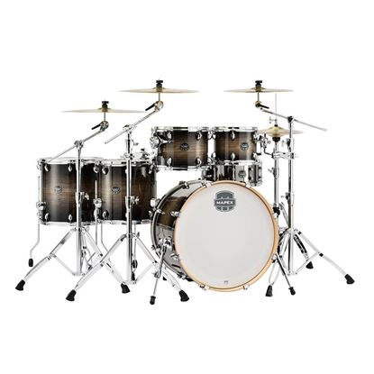 Mapex AR628SFETK Armory 6-Piece Shell Pack Drum Kit with 22in Bass Drum in Black Dawn