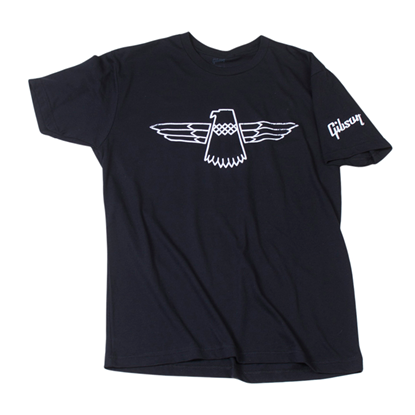 Gibson Thunderbird T-Shirt in Black (Large)
