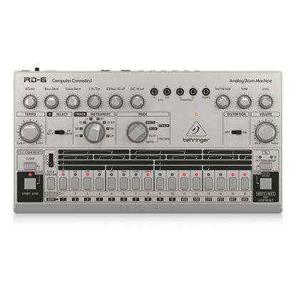 Behringer RD6 SR Analog Drum Machine - Top