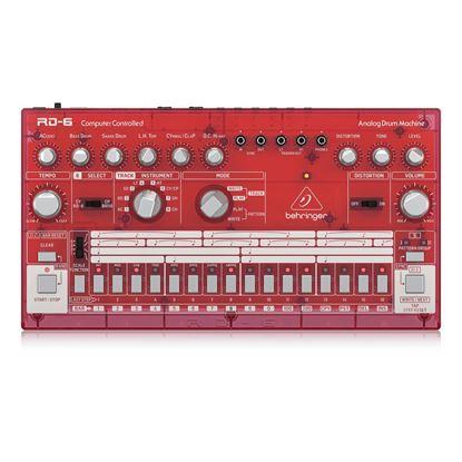 Behringer RD6 SB Analog Drum Machine - Top
