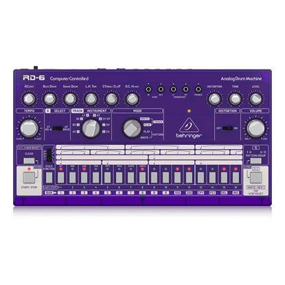 Behringer RD6 GP Analog Drum Machine - Top