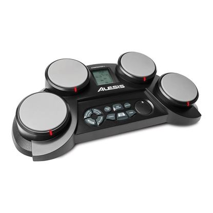 Alesis CompactKit 4 Portable Tabletop Drum Kit 4 Pad - Angle
