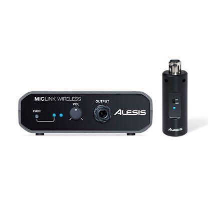 Alesis MicLink Wireless Digital Wireless Mic Adapter - Front