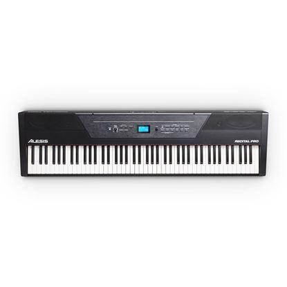 Alesis Recital Pro 88-Key Hammer Action Digital Piano - Top