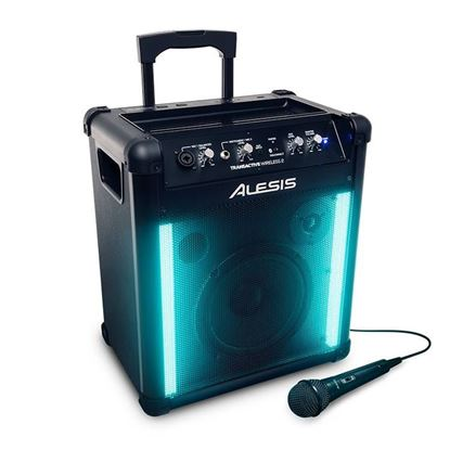 Alesis TransActive Wireless II Portable Speaker with Bluetooth - Angle