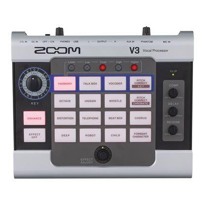 Zoom V3 Vocal Processor - Top