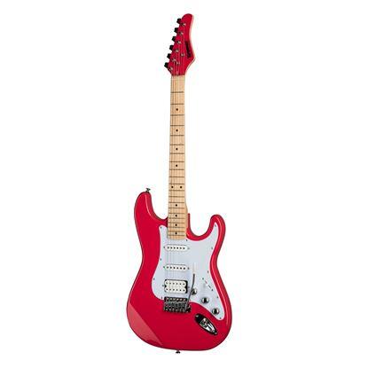 Kramer Focus VT211S Electric Guitar in Ruby Red - Front