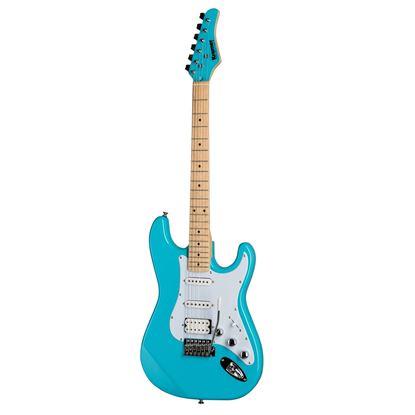 Kramer Focus VT211S Electric Guitar in Teal - Front